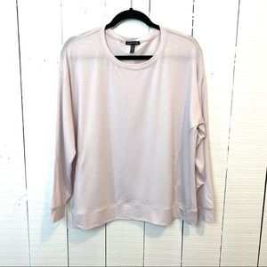 Eileen Fisher pullover lavender long sleeve